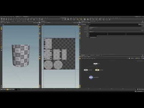 Introduction to Houdini 16: Simple Procedural UVs