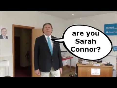 Election 2017 Greg Knight Conservative MP The Terminator