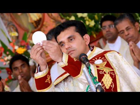 Fr. Vipin Kurisuthara CMI Syro Malabar Holy Mass pattu kurbana