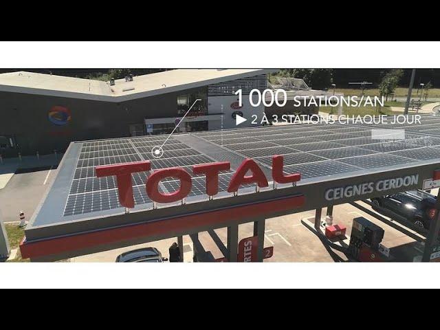 Le programme de solarisation des stations-service TOTAL