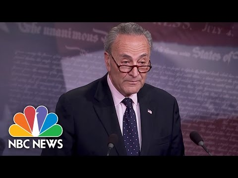 Chuck Schumer On James Comey's Firing: 'Why Now?' | NBC News