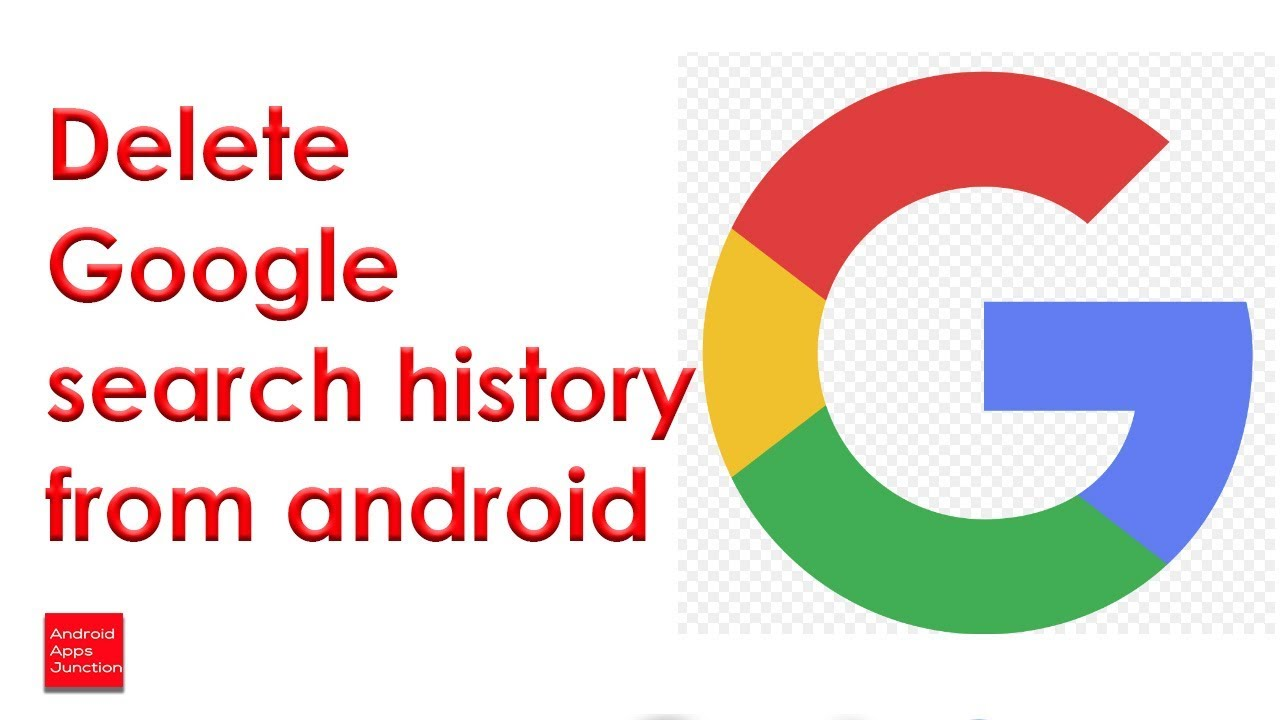 How Do I Delete Google Search History On My Android Phone Youtube