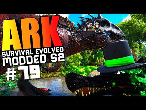 ARK Survival Evolved - INDOMINUS REX VS WARDENS, ALPHA GIGANOTOSAURUS TAME Modded #79 (ARK Gameplay)