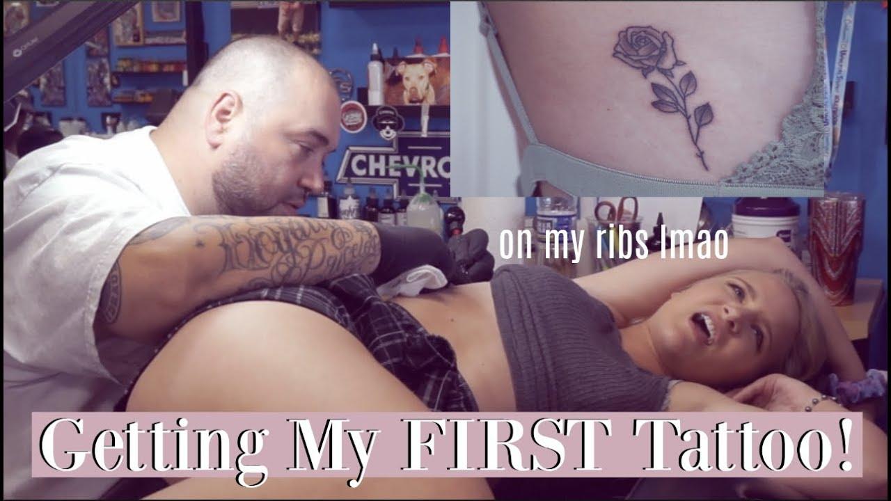 Download Getting my FIRST tattoo! On my ribs... lol