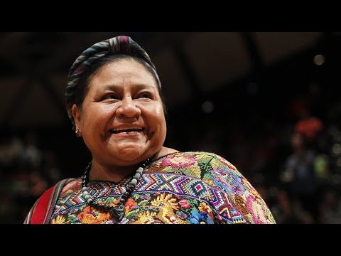 Prosecuting Guatemala's Dirty War: Rigoberta Menchú Hails Embassy Fire Verdict, Dictator's Trial