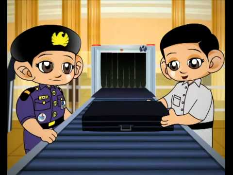 Dubai Customs Video at Kidzania (English)