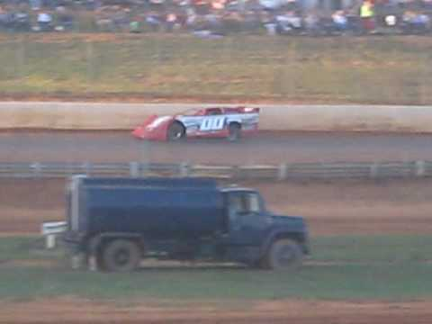 BO FEATHERS AT NATURAL BRIDGE SPEEDWAY IN VIRGINIA