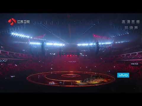 171231 Kris Wu -B.M. Live Performance at 2018 Jiangsu TV New Year Countdown Concert