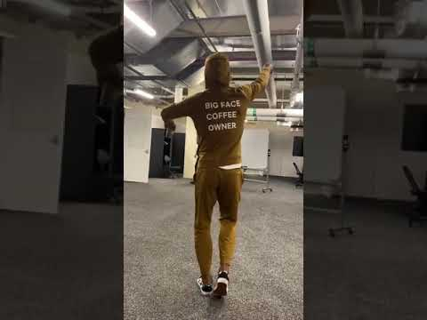 Jimmy Butler Dancing With His Big Face Coffee Owner Outfit Youtube