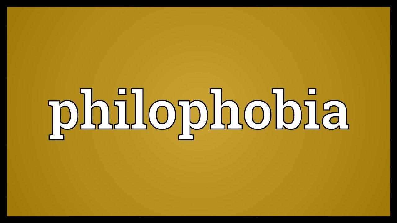 Philophobia quiz