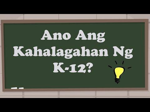 Ano Ang Kahalagahan Ng K-12?
