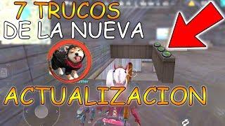¡ 7 TRUCOS SECRETOS para ser EL MEJOR JUGADOR DE FREE FIRE ! en la NUEVA ACTUALIZACION de FREE FIRE