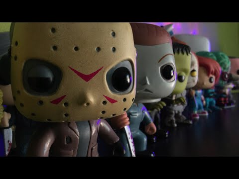 My Funko Pop HorrorHalloween Collection July 2018