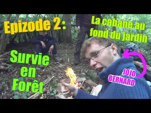 Jojo bernard survie en faux r epizode 2 la cabane au - La cabane au fond du jardin laurent gerra ...