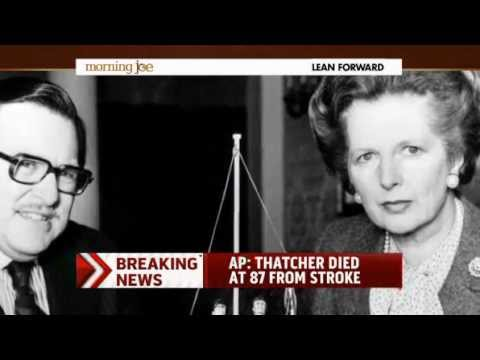 Margaret Thatcher dies at 87 years old
