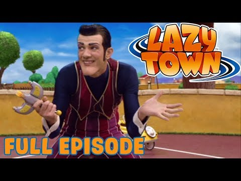 Lazy Town | Zap It! | Full Episode
