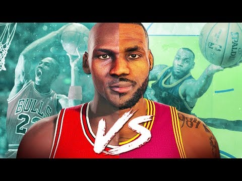 LEBRON JAMES vs MICHAEL JORDAN! Who is the GREATEST of ALL-TIME? | NBA 2K18 MyLeague