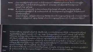 Hlwan Paing - Ma Way Buu Lyrics