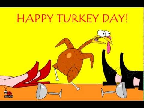 free funny greeting thanksgiving animated turkey ecards, Greeting card