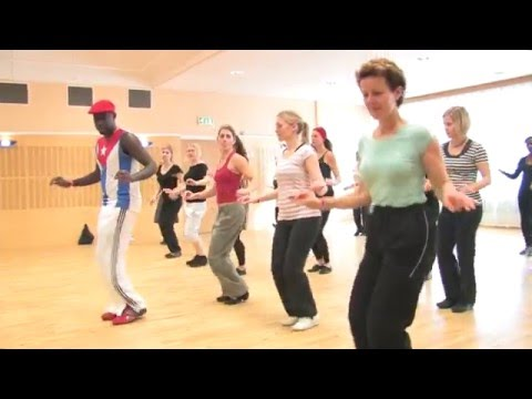 "baile cubano ""Mozambique"""