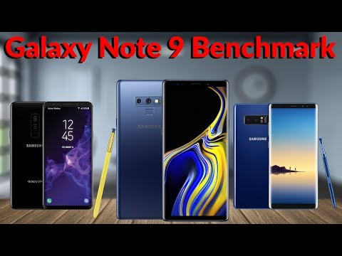 Samsung Galaxy Note 9 6GB RAM Benchmark Test & Comparison - YouTube Tech Guy