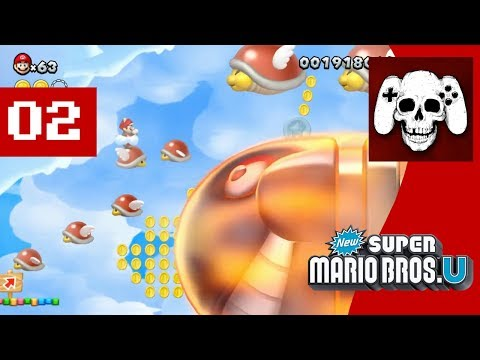 New Super Mario Bros. U (Wii U) Part 2 - Cinemassacre Plays