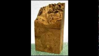 Vintage Signed Michael Elkan Studio Burl Wood Box I Sold On Ebay