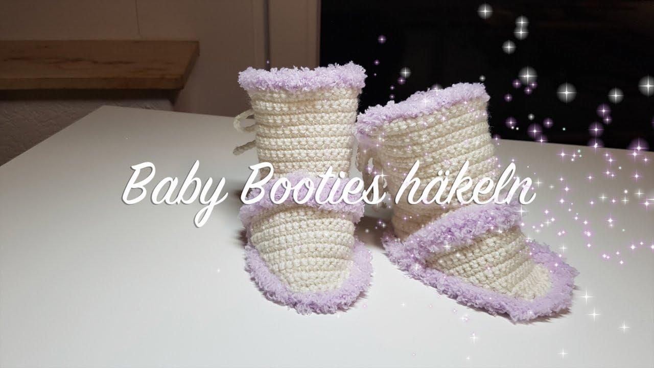 Baby Booties Häkeln Süße Schuhe Für Baby Häkeln Babyschuhe