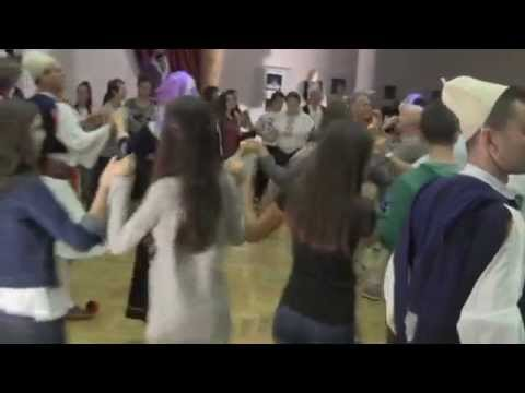 Tirana State Ensemble dance with us