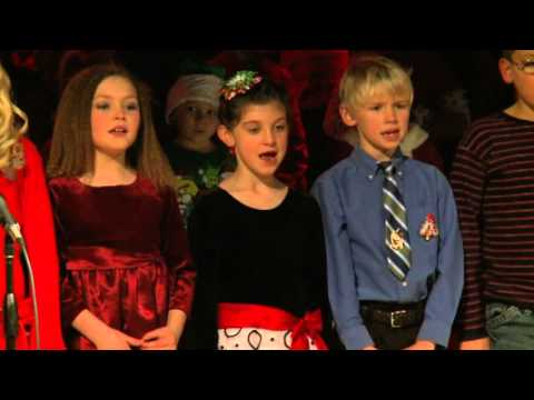 Boyne City Elementary School Christmas Sing 2012 Kd and Second 7:30 Show Part II
