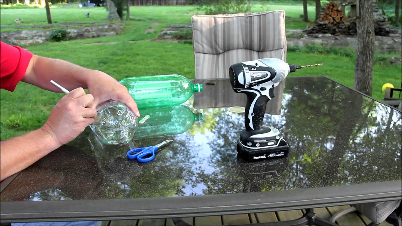 Diy 2 Liter Bottle Chicken Waterer Youtube