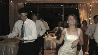 American bride & groom dancing to Bollywood song at their wedding [HD]
