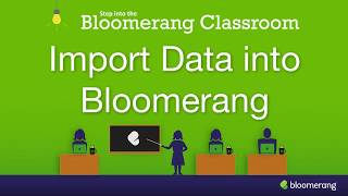Import Data into Bloomerang