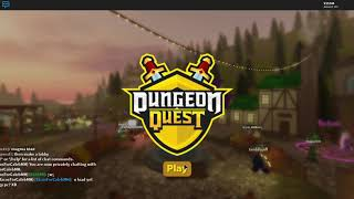 ROBLOX dungeon quest (get well caleb!)