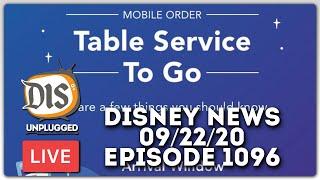 🔴  LIVE: Walt Disney World News \u0026 Discussion | 09/22/20