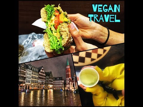 Frankfurt 📌| Vegan Travel | What i Ate in Germany 🥨
