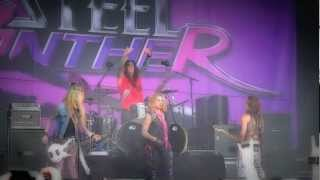 STEEL PANTHER live... Death To All But HAIR Metal  SWEDEN 2010