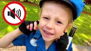 Nastya berpura-pura menjadi polisi dan membantu semua orang