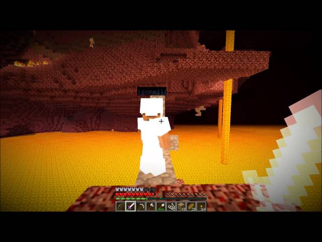 """Смотреть прохождение игры Minecraft - Серия 11: """"В ад на разведку.."""""""