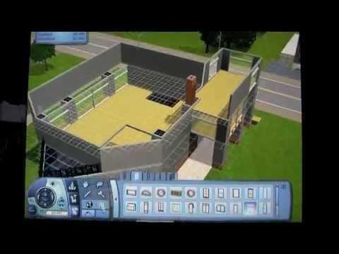 Sims 3 tutorial modern house 3 part 1 youtube for Modern house 8 part 3