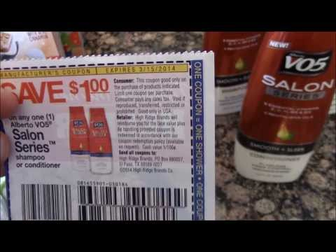 Double Coupon & Price Match Grocery Haul