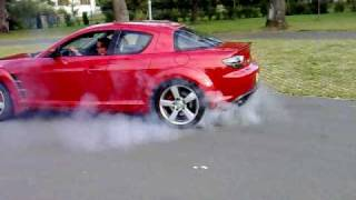 Mazda RX8 Burnout Österreich