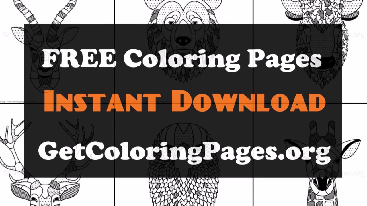 Scandinavian Design Coloring Book