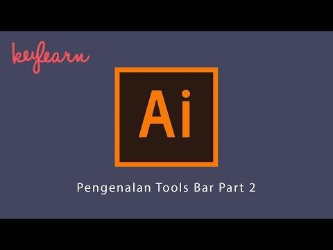 Adobe Illustrator Untuk Pemula | #3. Pengenalan Tools Bar Part 2 | Bahasa Indonesia