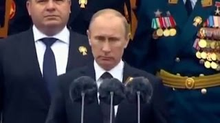 World's Greatest Christian Leader Vladimir Putin Takes Swipes at U.S. May 9 Victory Day Speech 2015