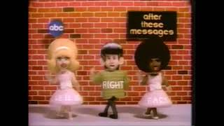 "ABC ""After These Messages We'll Be Right Back""  Saturday Morning Cartoon Bumpers!!"