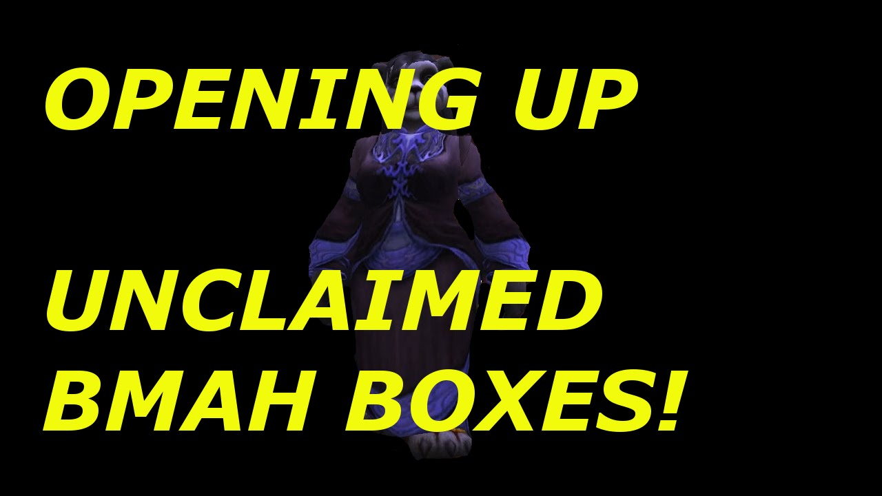 WoW: Opening Unclaimed Black Market Container
