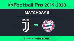 ESPORTS | Juventus v Bayern Munich 🎮 | PES 2020 eFootball.Pro League ⚽
