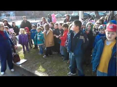 WINSTED JOURNAL: Hinsdale Elementary School/Gilbert School choir Town Hall Christmas songs