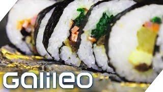 Nori & Sushi - Algen- und Schneckenzucht in Korea | Galileo | ProSieben
